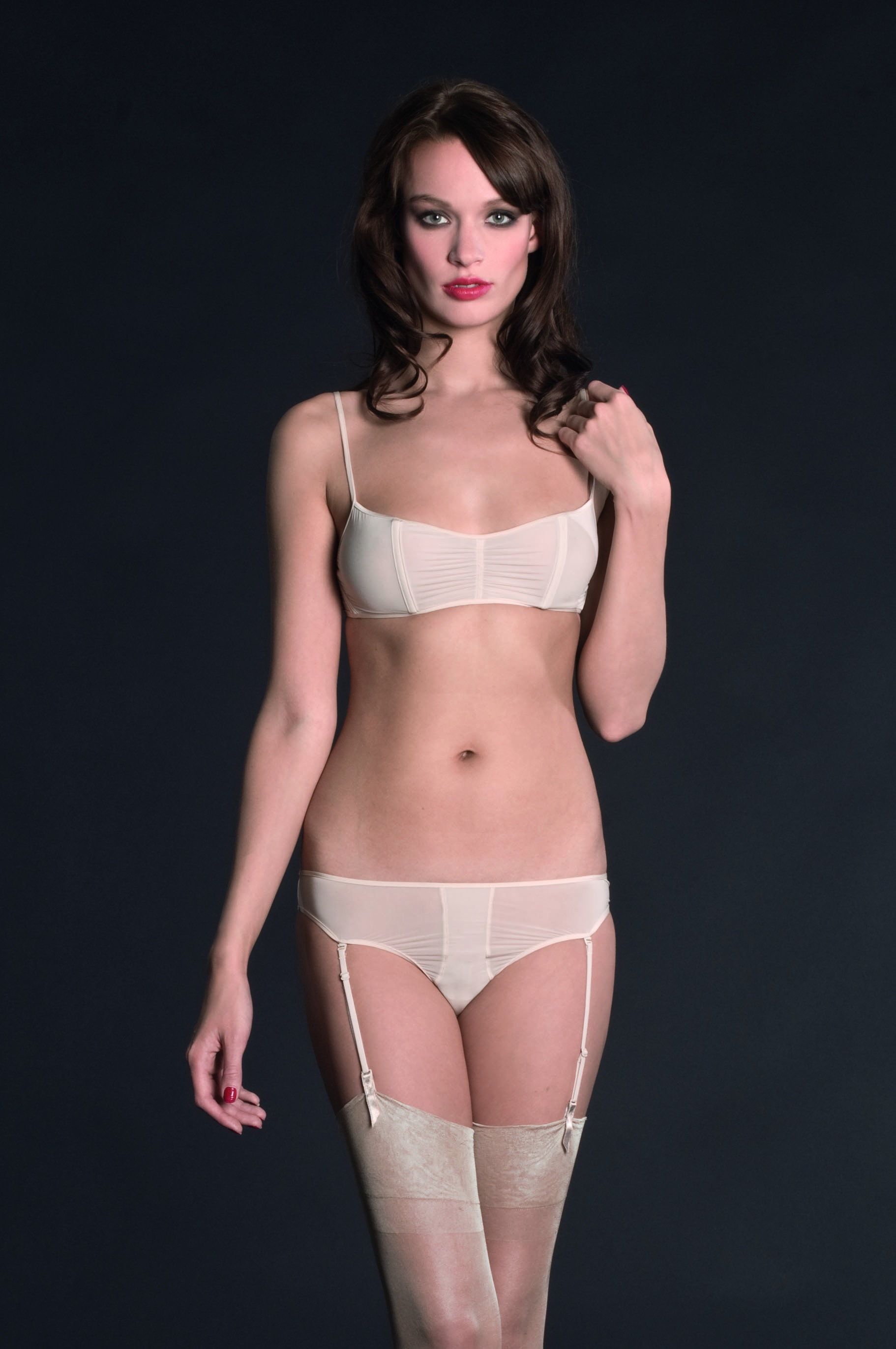 Maison Close Tanga s podvazky / Thong with suspender